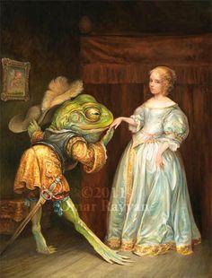 e63b99d7dfec6a5ab20e534fb2ee6739--the-frog-prince-frog-art